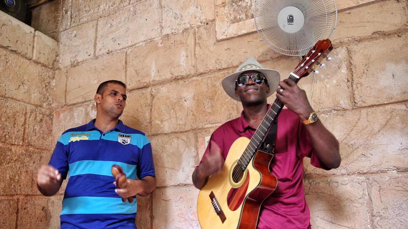 Musicians in Havana Vieja