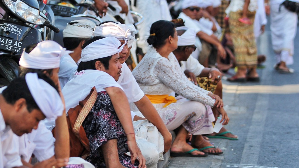 Hindu ceremony on Bali