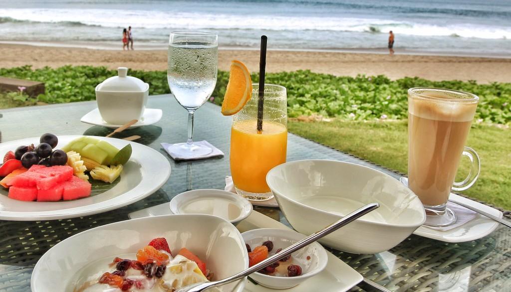 Breakfast at Samaya Seminyak Bali