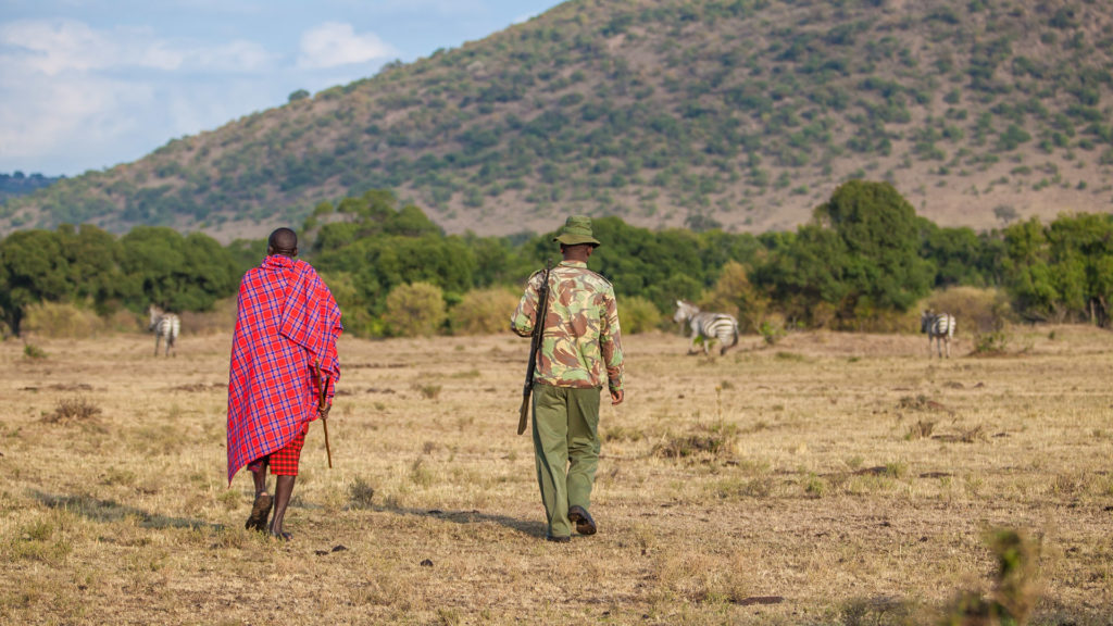 Walking Safari Masai Mara