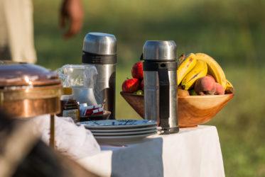 Breakfast in Savuti