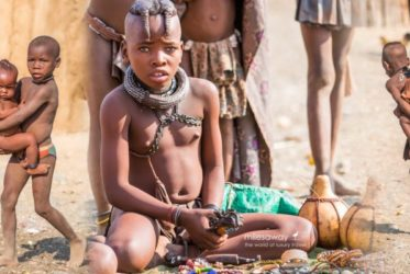 Plemię Himba in Namibia