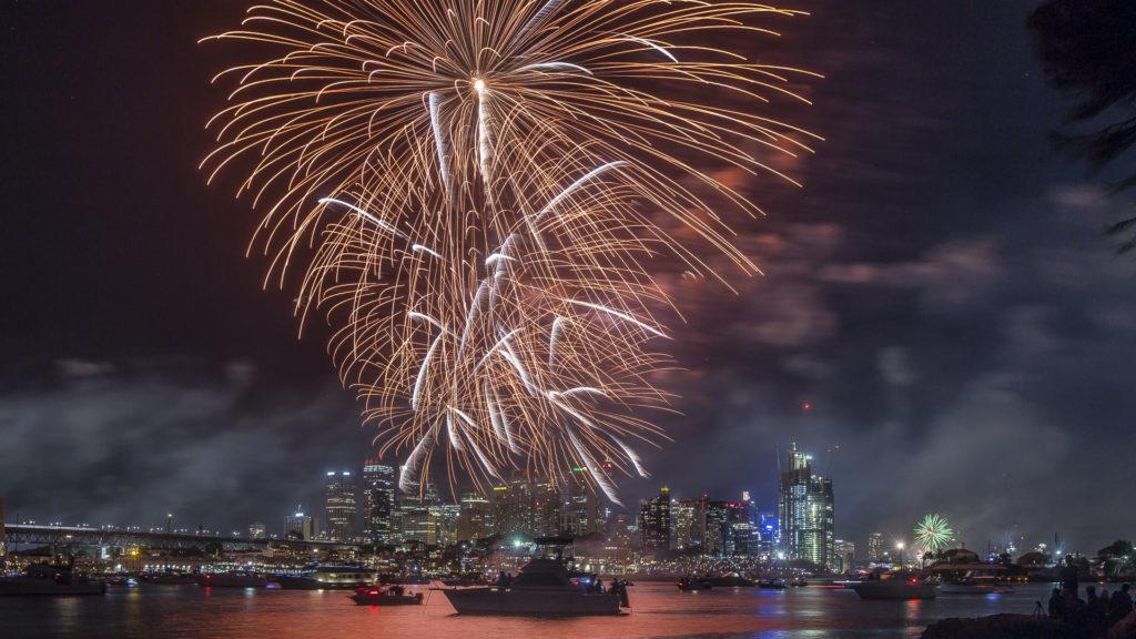 Fireworks_Sydney_Australia dla poczatkujacych
