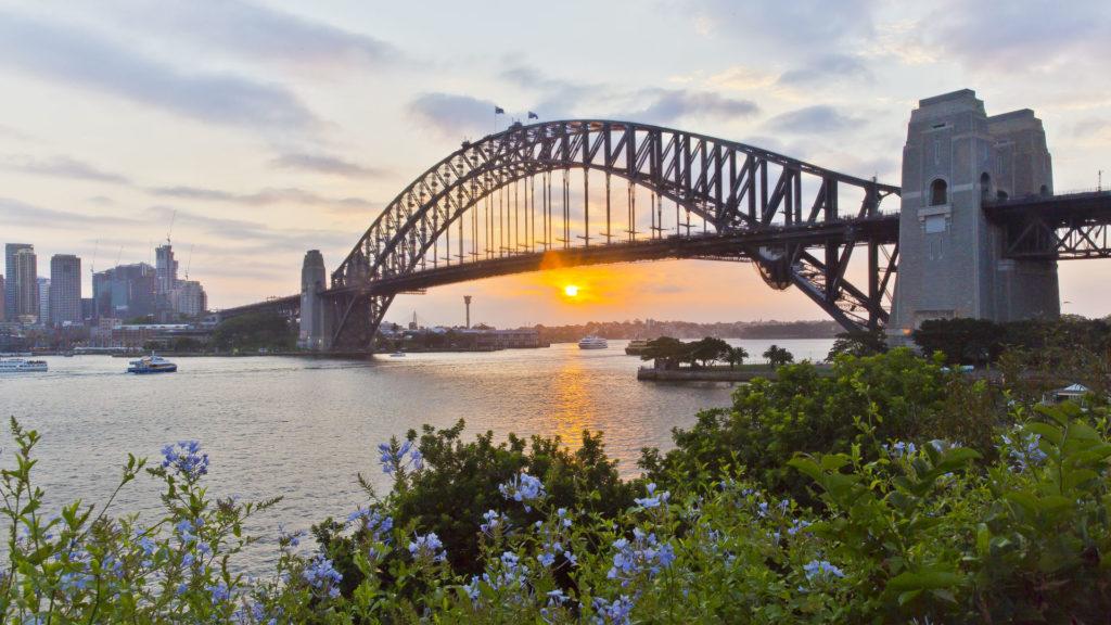 SydneyHarbourBridge_Australia dla poczatkujacych