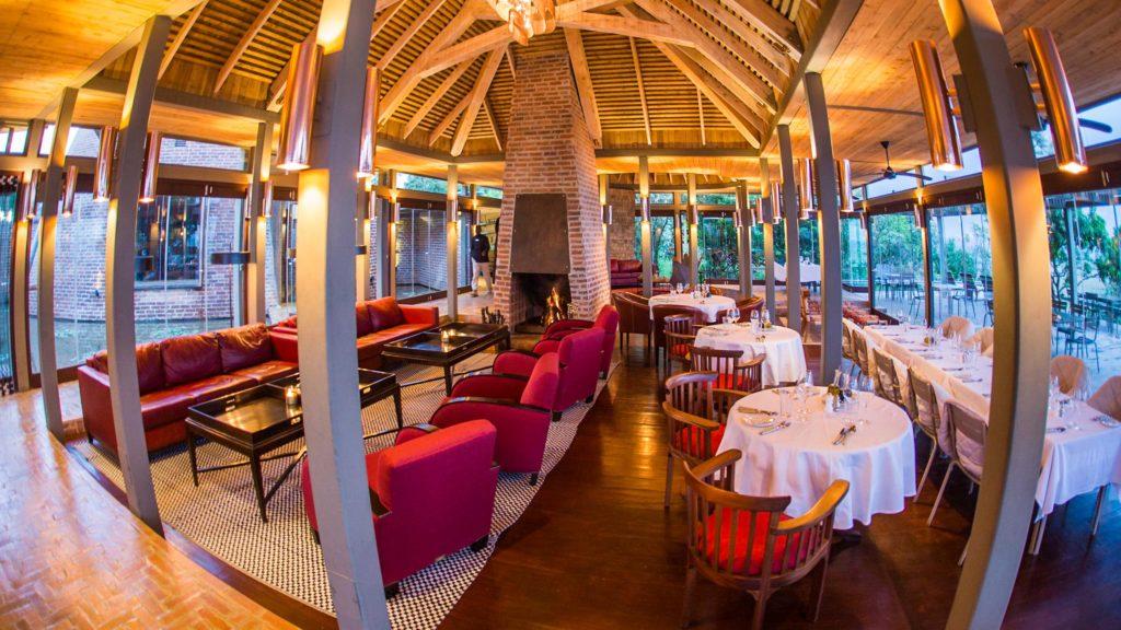 Angama Mara restauracja & lobby