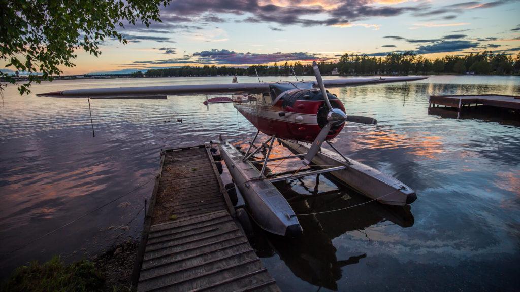 Lake Hood Sea plane