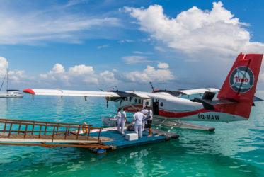 Maldives arrival