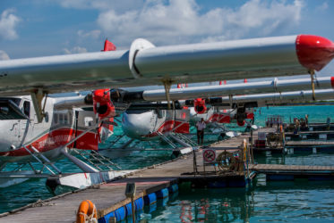 Male seaplane airport