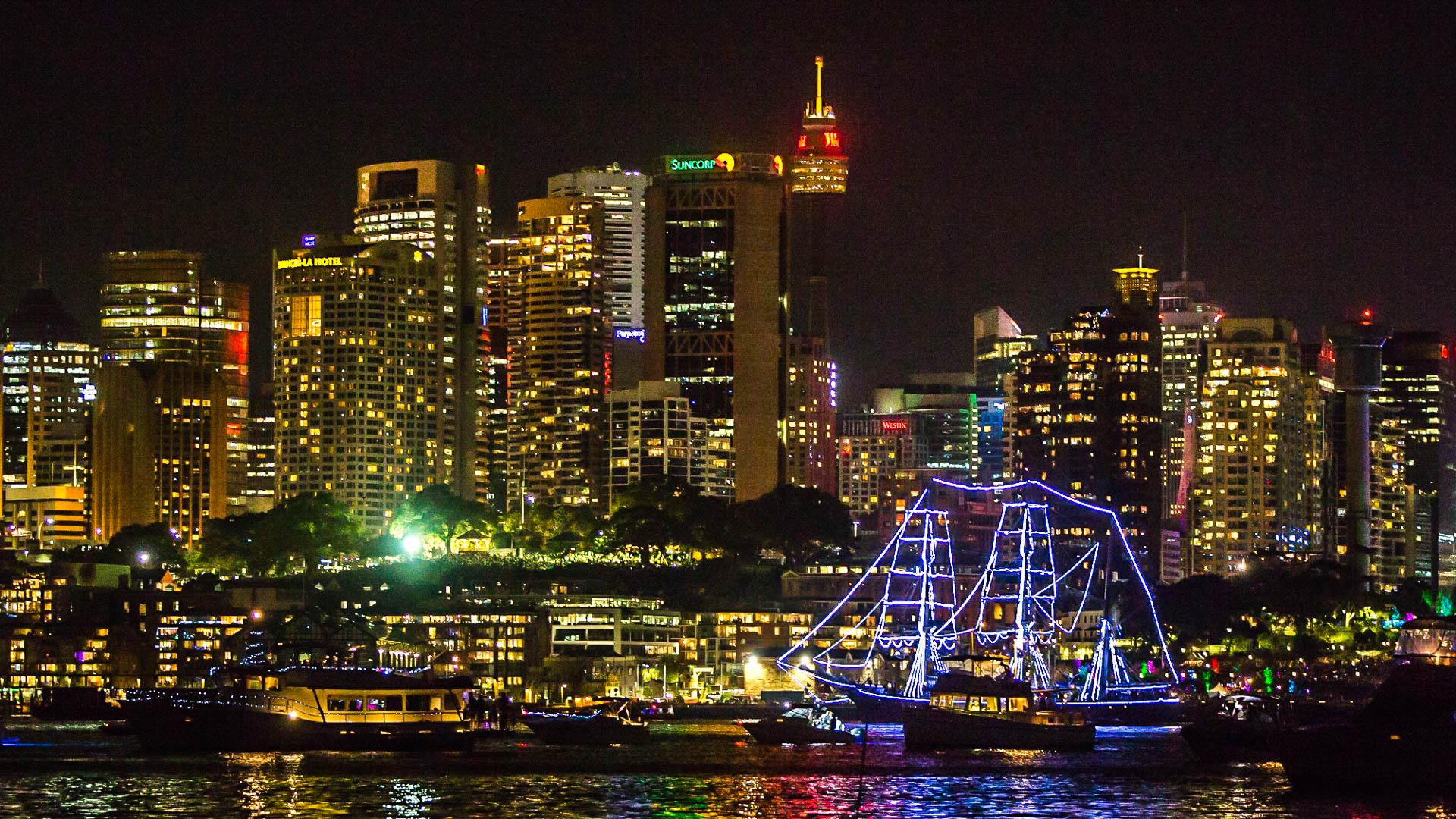Parada jachtów Sydney