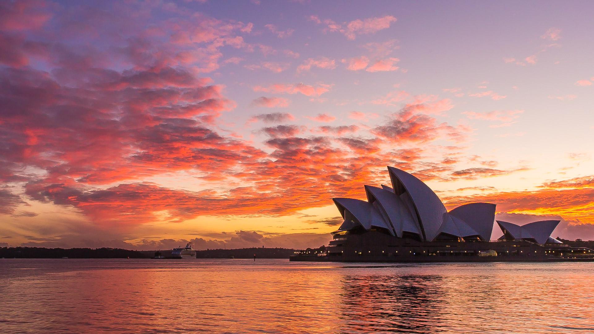 Sydney Opera House Nowy Rok