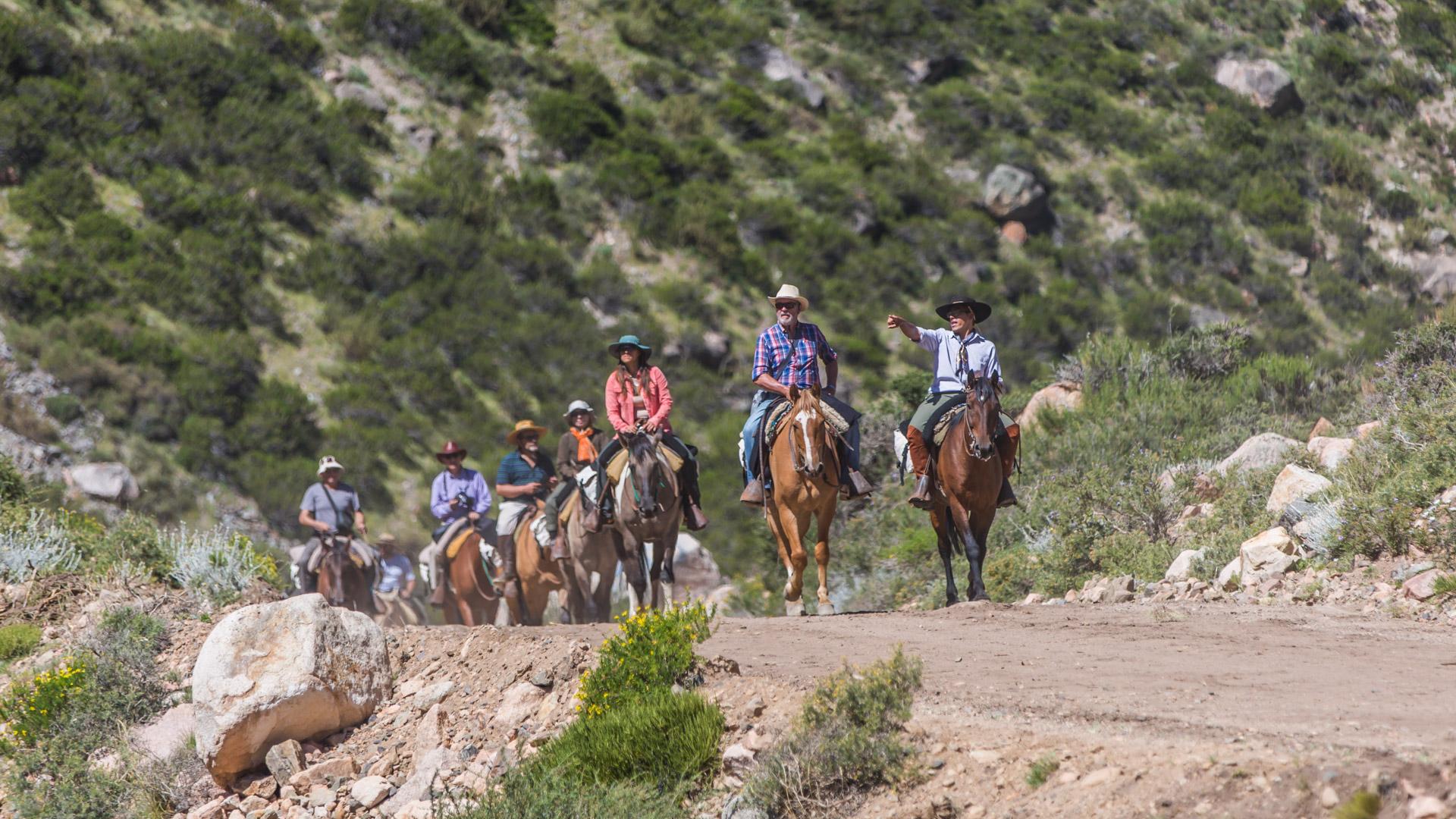 W drodze. Cruce de los Andes