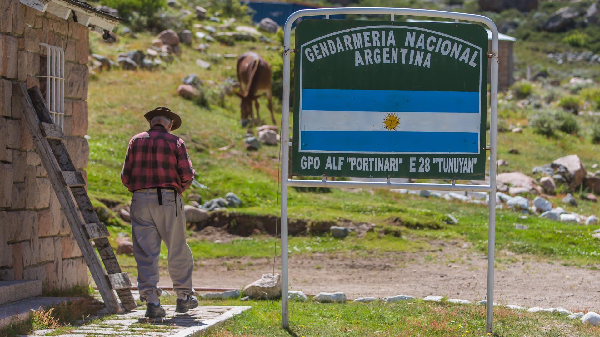 Posterunek straży granicznej Argentyna. Cabalgata 2017