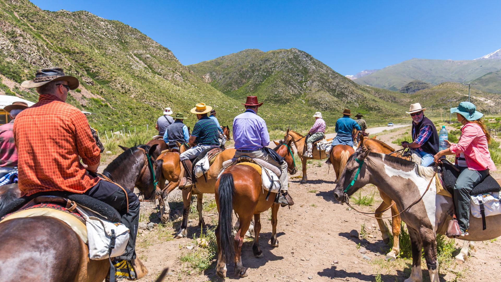 Tunuyan początek Cruce de los Andes