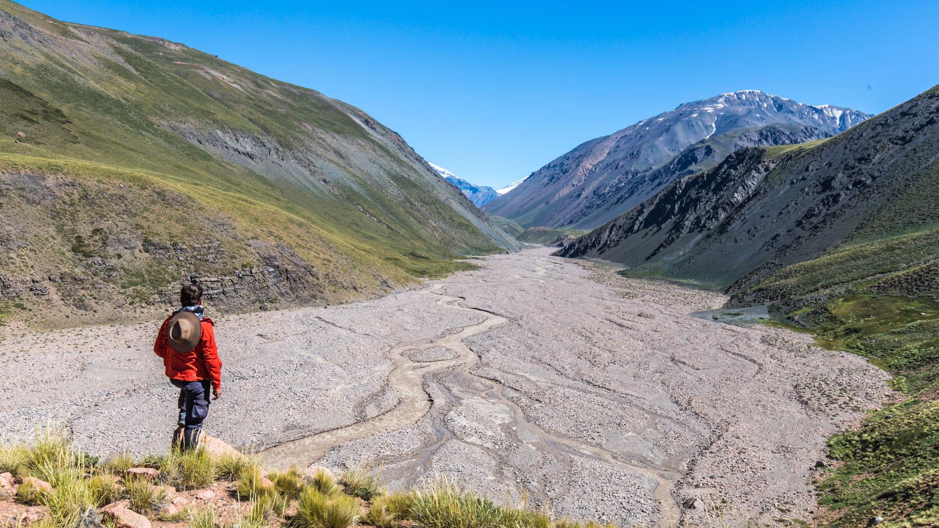 Kadr ze spaceru Doliną rzeki Tunuyan