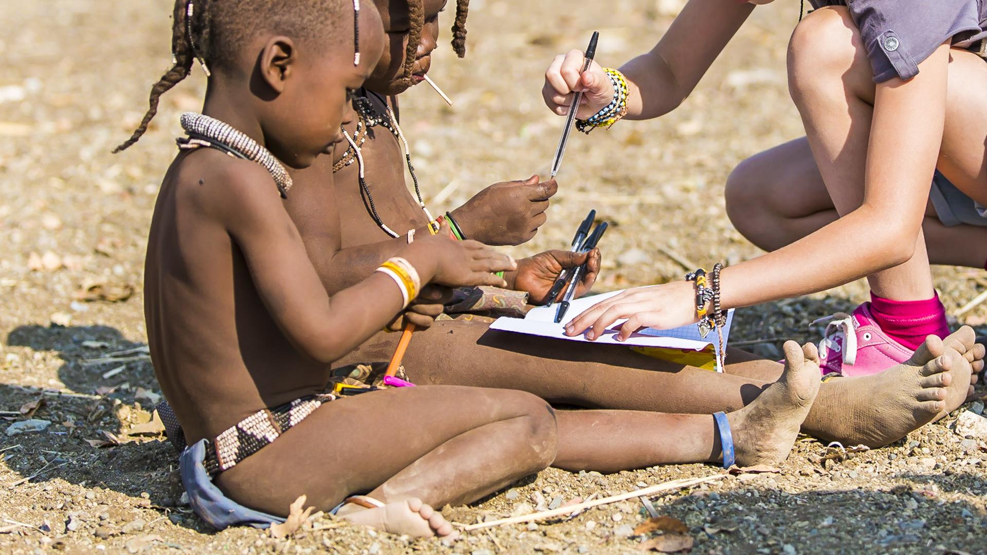 Himba village, Opuwo, Namibia