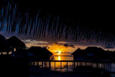 Como Maalifushi Sunset from Water Suite