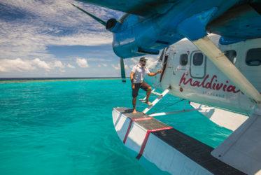 Maldivian Seaplane at Como Maalifushi
