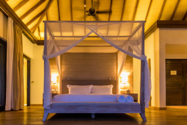 Como Maalifushi Water Suite Bedroom