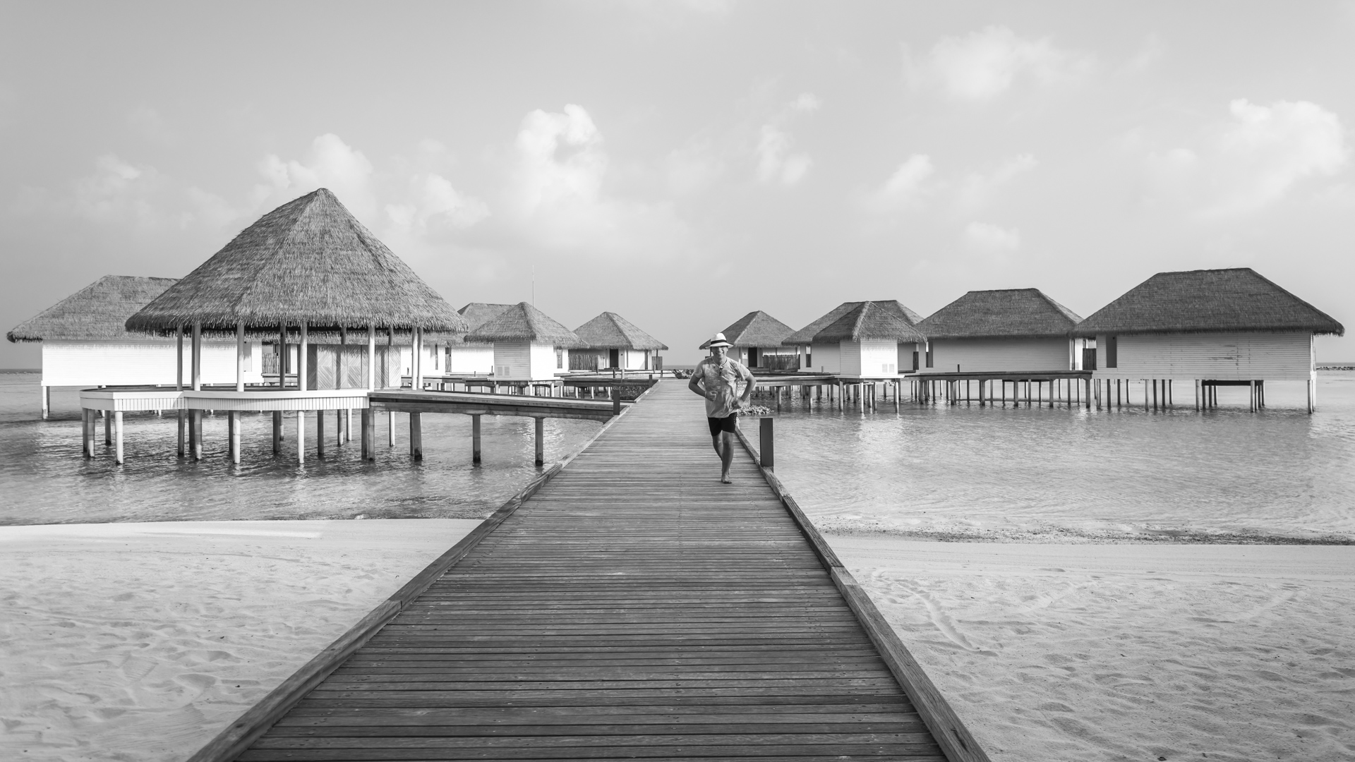 Como Maalifushi - author after a Spa treatment