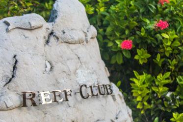 Four Seasons Kuda Huraa entrance to Reef Club