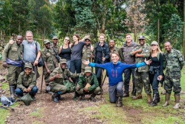Wracamy z tropienia goryli bez strat własnych;)
