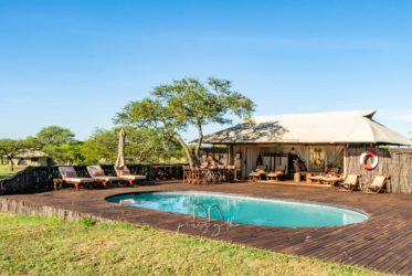 Sabora Tented Camp basenowy chill out